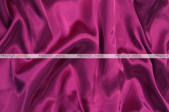 Charmeuse Satin - Fabric by the yard - 645 Raspberry