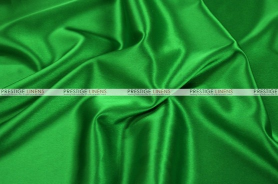 Charmeuse Satin - Fabric by the yard - 727 Flag Green