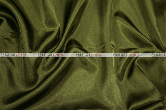 Charmeuse Satin - Fabric by the yard - 830 Olive