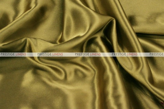 Charmeuse Satin - Fabric by the yard - 832 Lt Olive