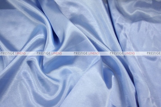 Charmeuse Satin - Fabric by the yard - 926 Baby Blue