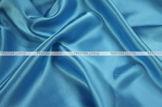 Charmeuse Satin - Fabric by the yard - 932 Turquoise