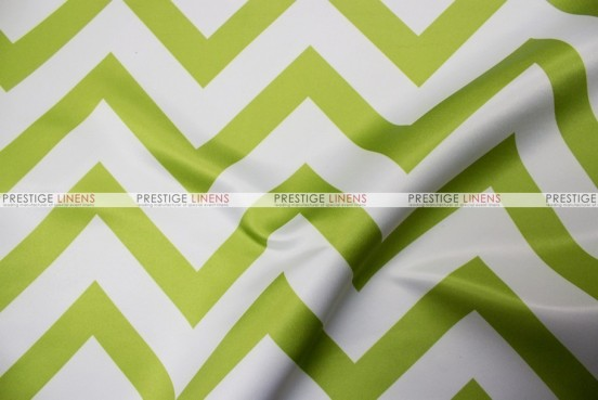 Chevron Print Lamour - Fabric by the yard - Avocado