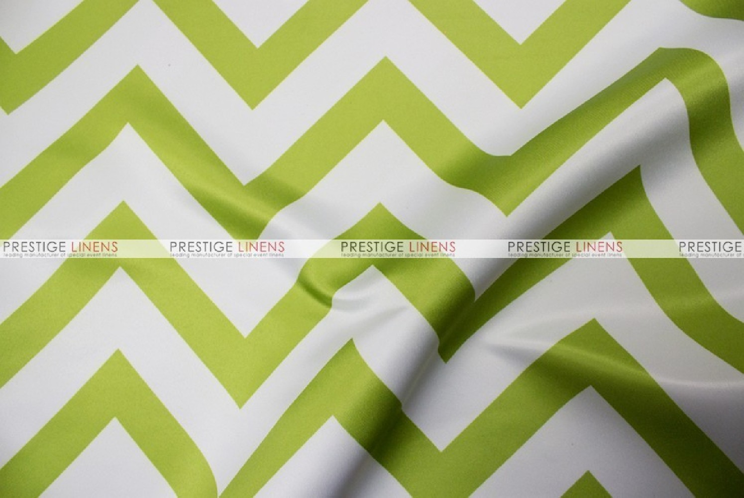 Awesome Green And Yellow Chevron Fabric Ensign Custom