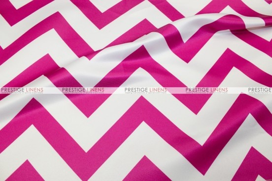 Chevron Print Lamour - Fabric by the yard - Fuchsia