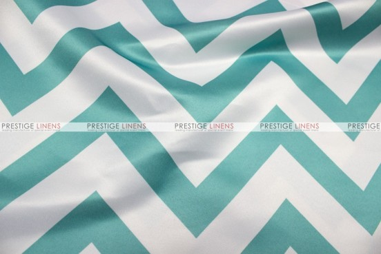 Chevron Print Lamour - Fabric by the yard - Jade