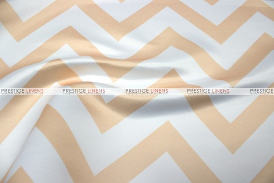 Chevron Print Lamour - Fabric by the yard - Khaki