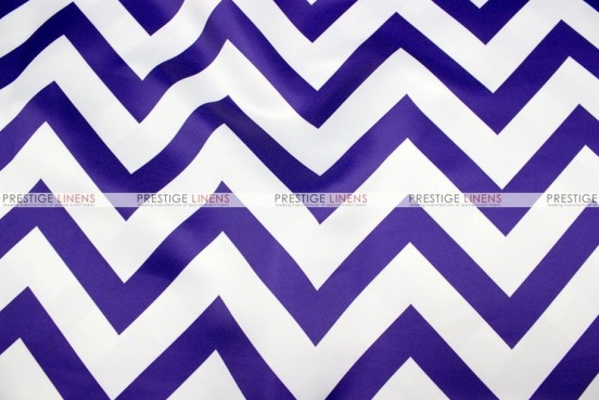 Chevron Print Lamour - Fabric by the yard - Purple