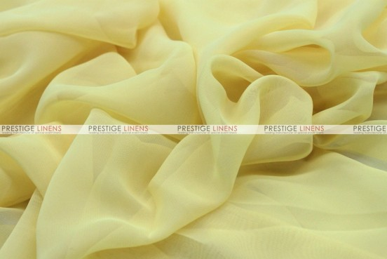 Chiffon - Fabric by the yard - Banana