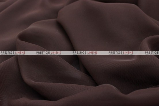 Chiffon - Fabric by the yard - Brown