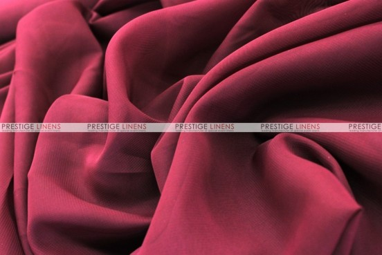 Chiffon - Fabric by the yard - Burgundy