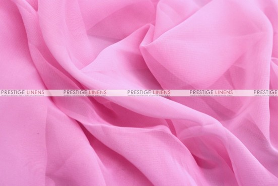 Chiffon - Fabric by the yard - Candy Pink