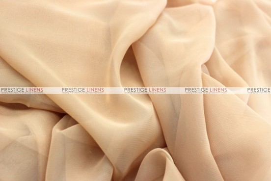 Chiffon - Fabric by the yard - Champagne