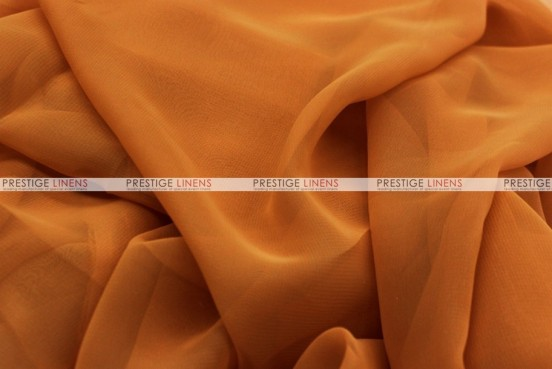 Chiffon - Fabric by the yard - Cinnamon