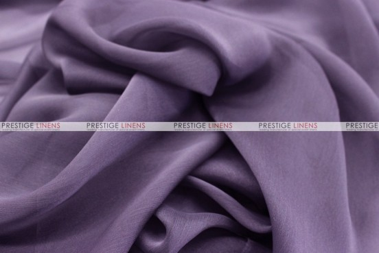 Chiffon - Fabric by the yard - Dk Lilac