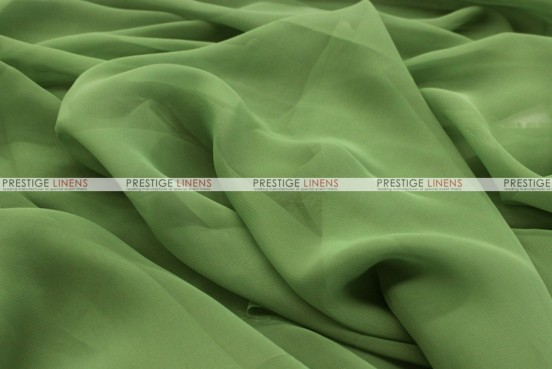 Chiffon - Fabric by the yard - Dk Sage