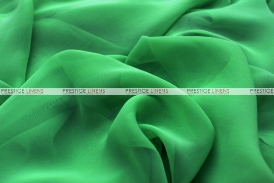 Chiffon - Fabric by the yard - Flag Green