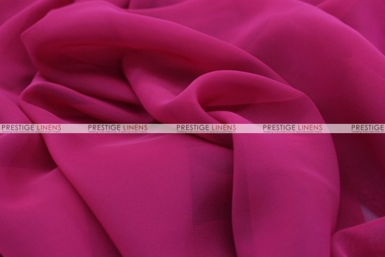 Chiffon - Fabric by the yard - Fuchsia