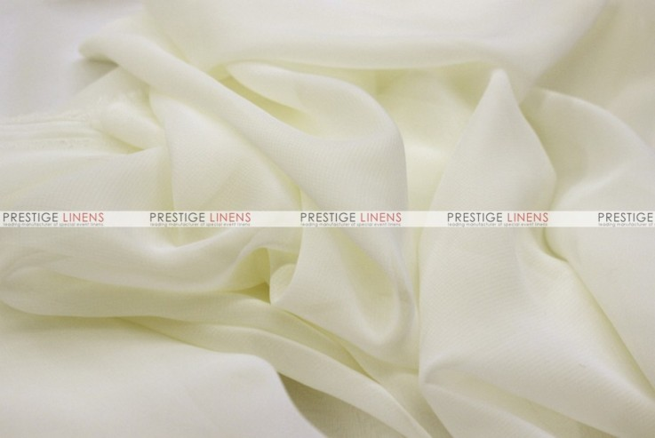 Chiffon - Fabric by the yard - Ivory
