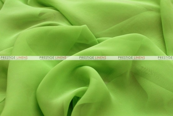 Chiffon - Fabric by the yard - Lime