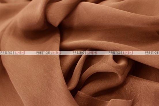 Chiffon - Fabric by the yard - Mocha