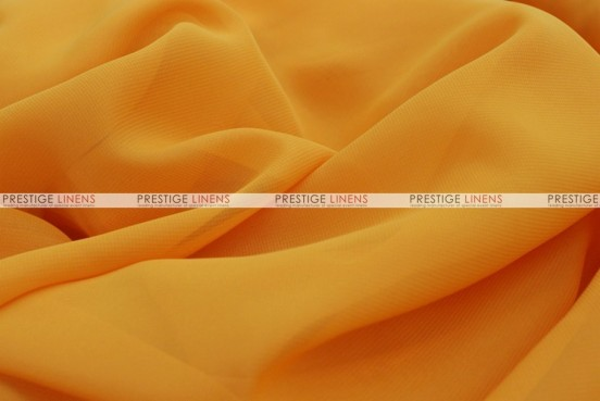 Chiffon - Fabric by the yard - Mustard