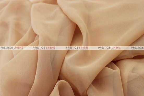 Chiffon - Fabric by the yard - N Khaki
