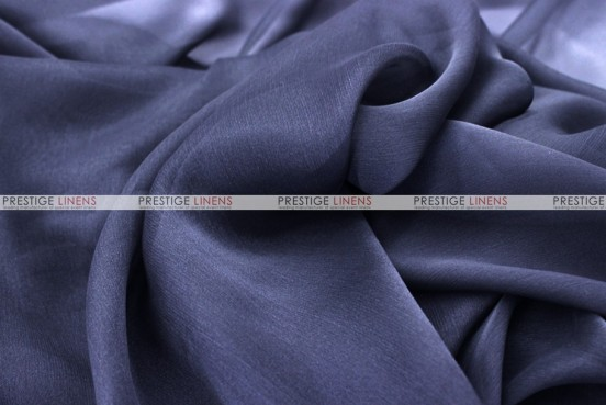 Chiffon - Fabric by the yard - Navy