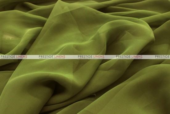 Chiffon - Fabric by the yard - Olive