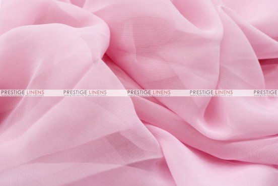 Chiffon - Fabric by the yard - Pink