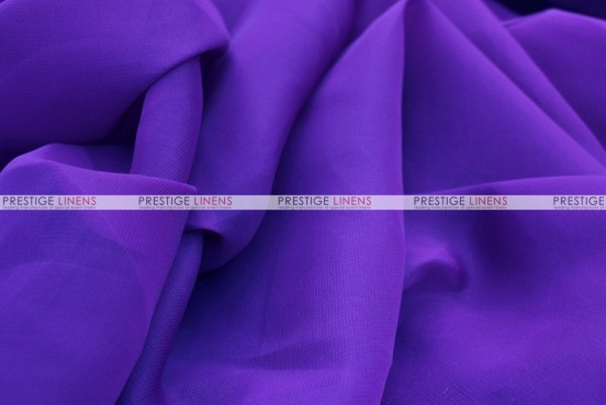 Chiffon - Fabric by the yard - Purple