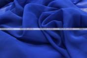 Chiffon - Fabric by the yard - Royal