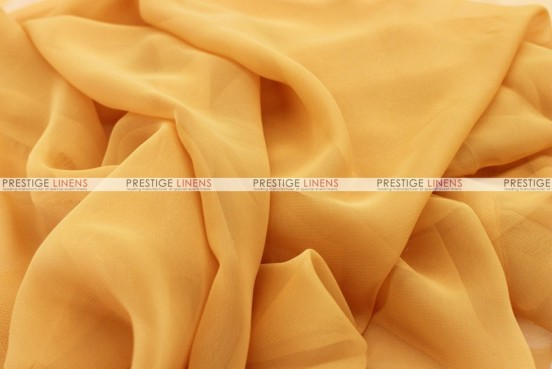 Chiffon - Fabric by the yard - Sungold