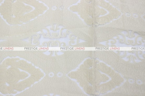 Imperial Damask Draping - Ivory
