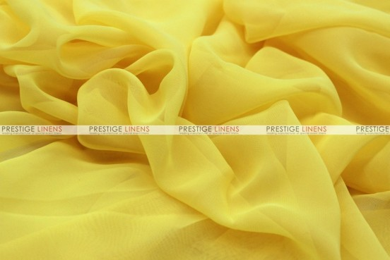 Chiffon - Fabric by the yard - Yellow