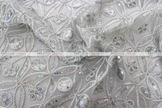 Coco Star - Fabric by the yard - Silver