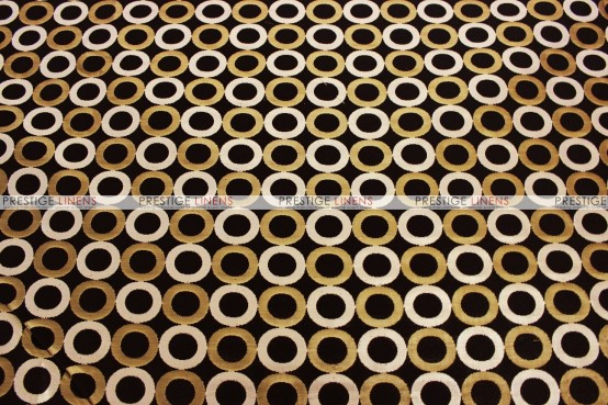 Contempo - Fabric by the yard - Gold/Black