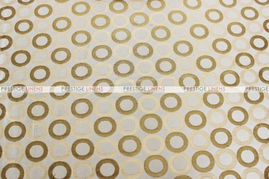 Contempo - Fabric by the yard - Gold/Ivory