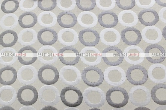 Contempo - Fabric by the yard - Silver/Ivory