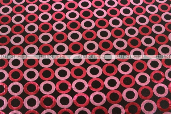 Contempo - Fabric by the yard - Wine/Black
