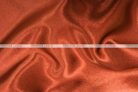 Crepe Back Satin (Japanese) - Fabric by the yard - 337 Rust