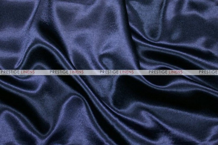 Crepe Back Satin (Japanese) - Fabric by the yard - 934 Navy