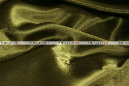 Crepe Back Satin (Korean) - Fabric by the yard - 830 Olive
