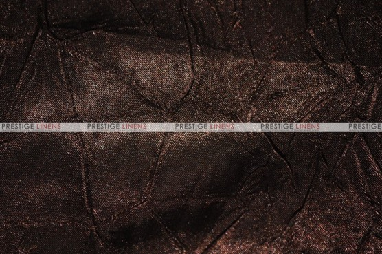 Crushed Bichon - Fabric by the yard - 333 Brown