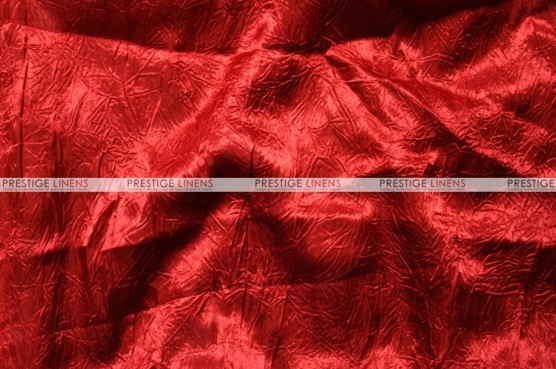 Crushed Bichon - Fabric by the yard - 626 Red
