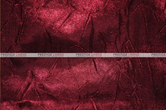 Crushed Bichon - Fabric by the yard - 628 Burgundy
