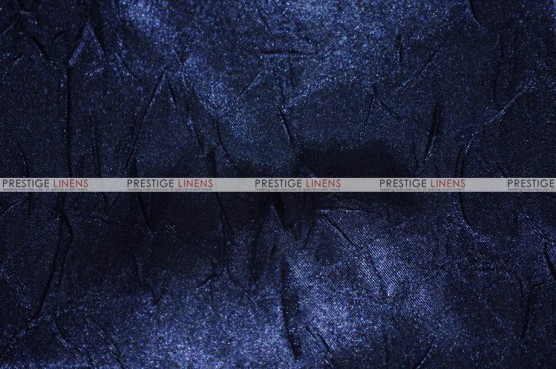 Crushed Bichon - Fabric by the yard - 934 Navy