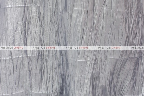 Crushed Taffeta - Fabric by the yard - 1126 Silver