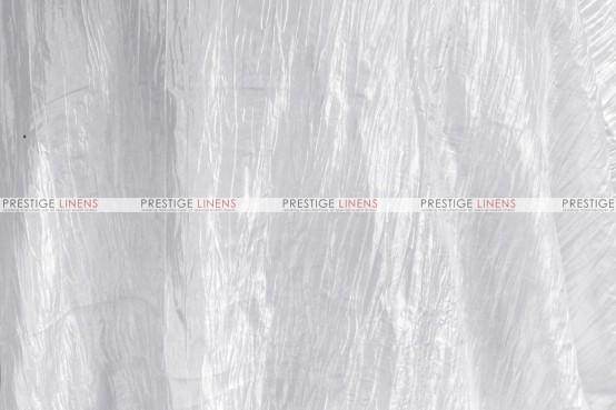 Crushed Taffeta - Fabric by the yard - 126 White