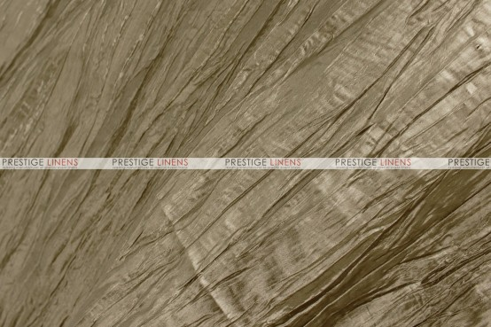 Crushed Taffeta - Fabric by the yard - 132 Taupe